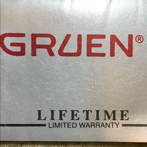 5 New Gruen Watches